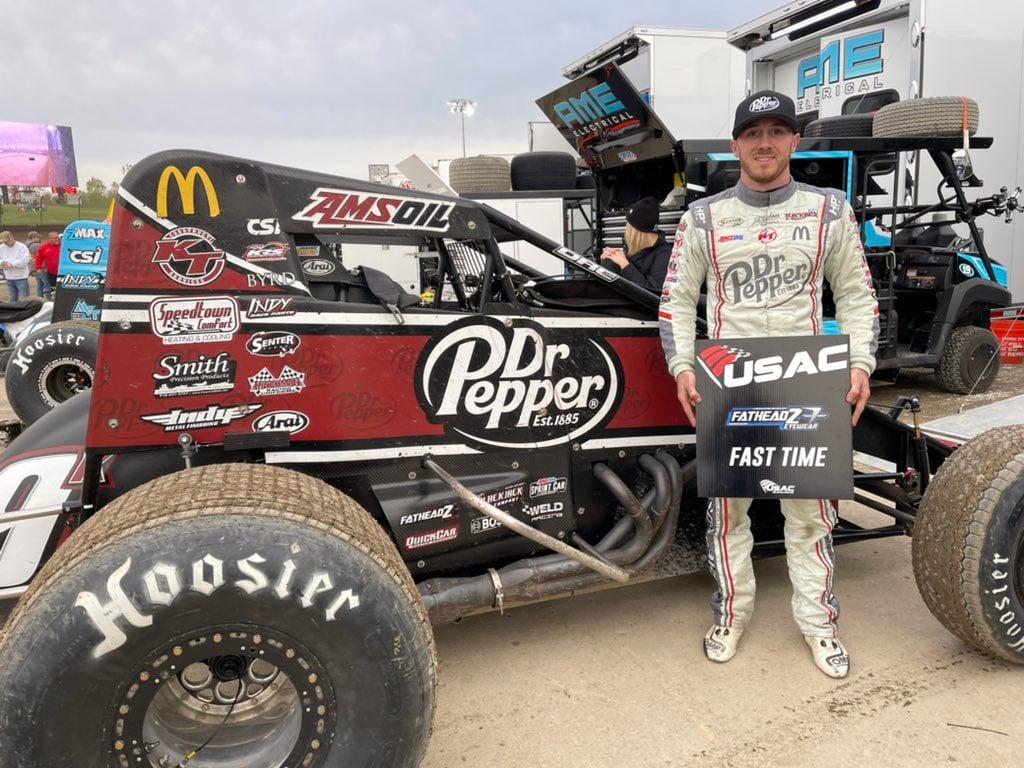 Kevin Thomas Jr - USAC National Sprint Car Series