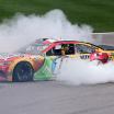 Kyle Busch - Burnout - Kansas Speedway - NASCAR Cup Series