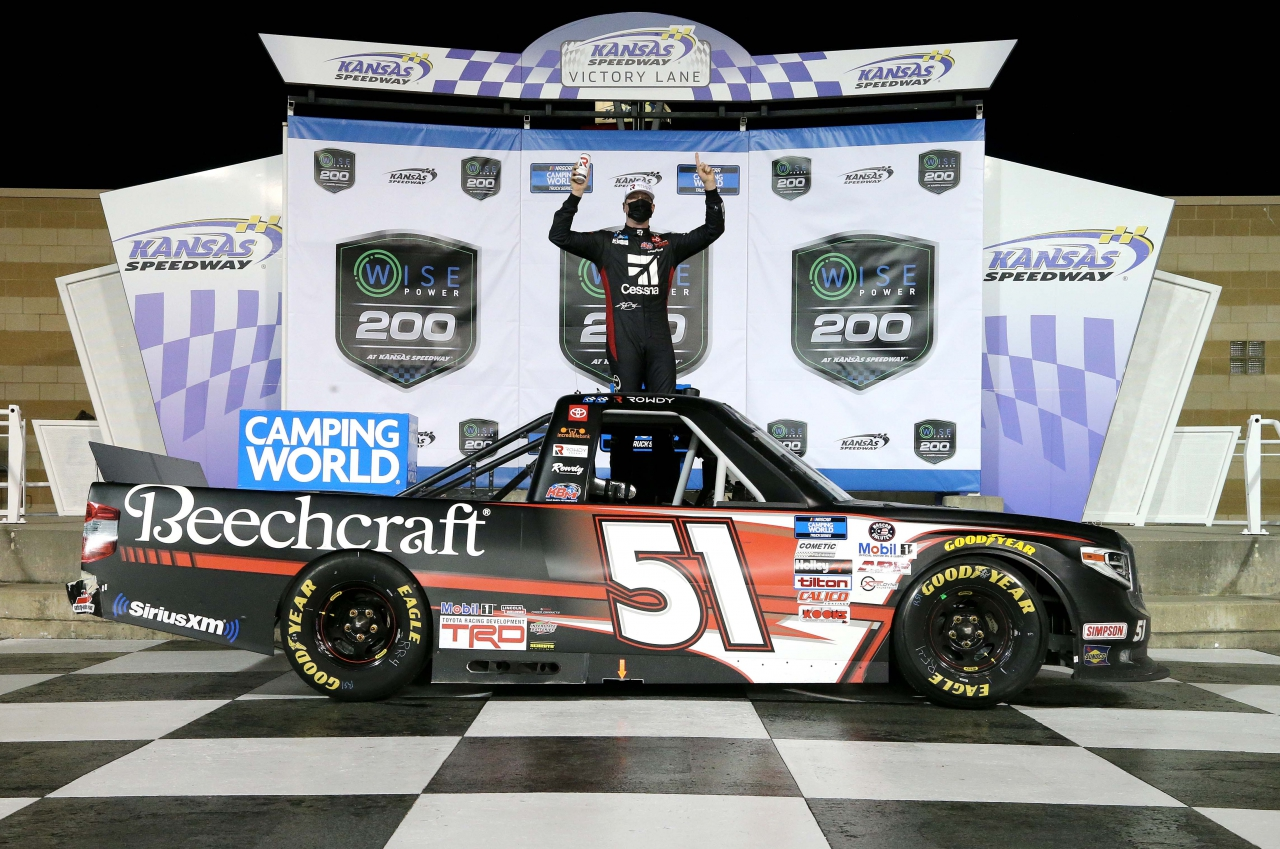 Kyle Busch wins at Kansas Speedway - NASCAR Truck Series