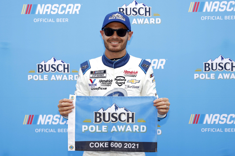 Kyle Larson - NASCAR Cup Series pole at Charlotte Motor Speedway