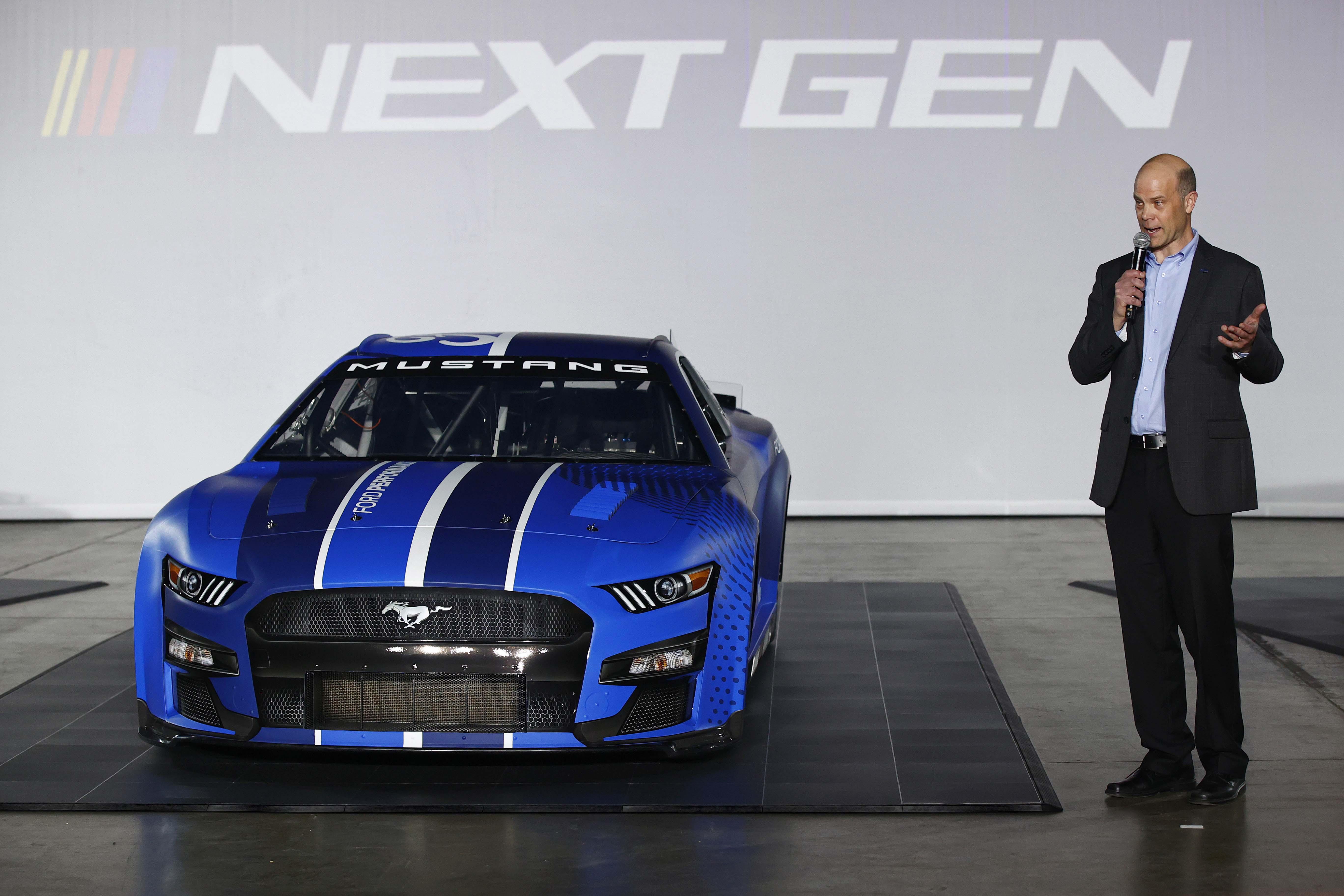 Mark Rushbrook - Ford NASCAR Next Gen