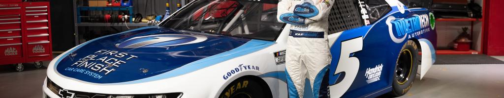 Kyle Larson welcomes MetroTech as new NASCAR sponsor