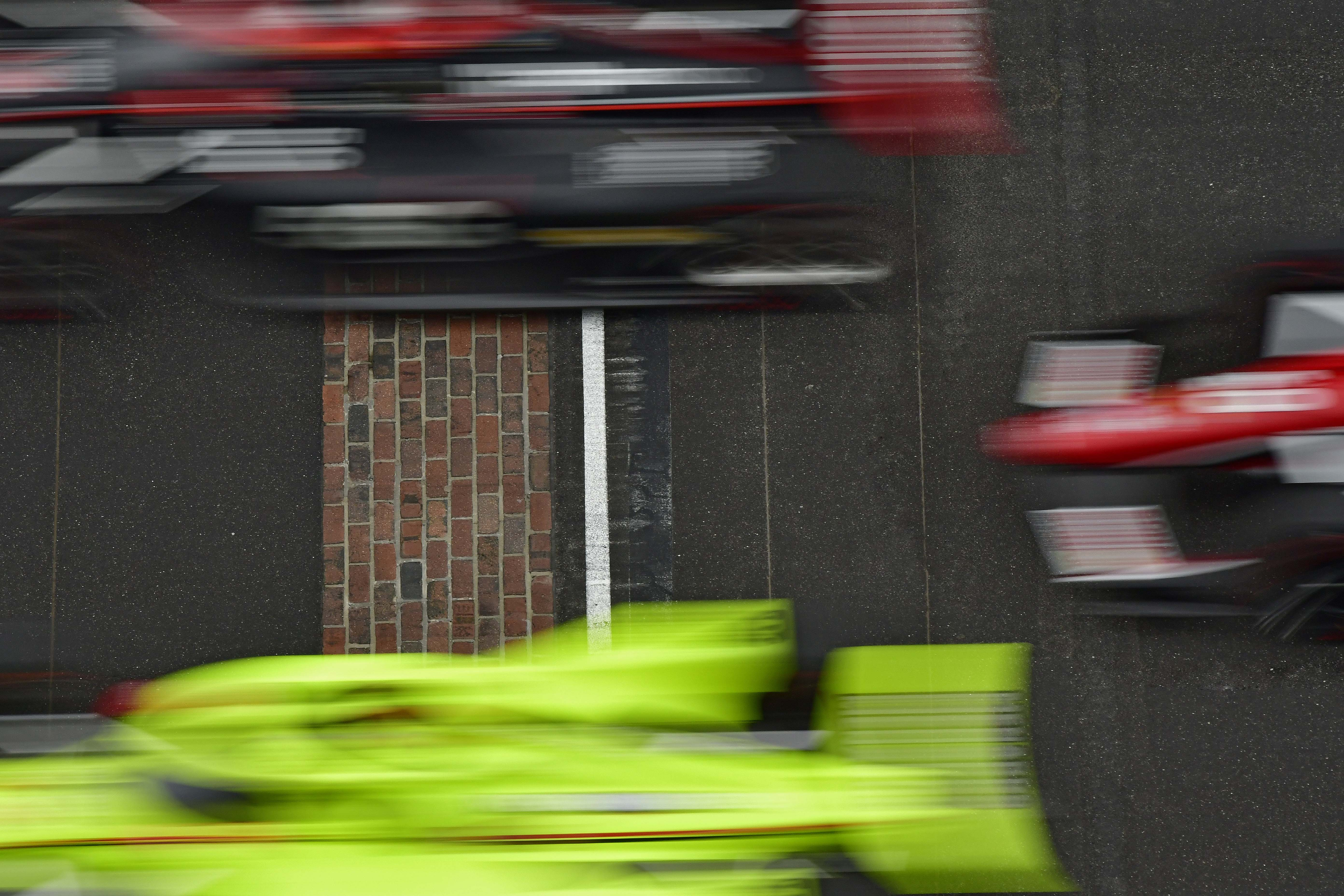 Motion Blur - Indy 500 - Indianapolis Motor Speedway - Indycar Series