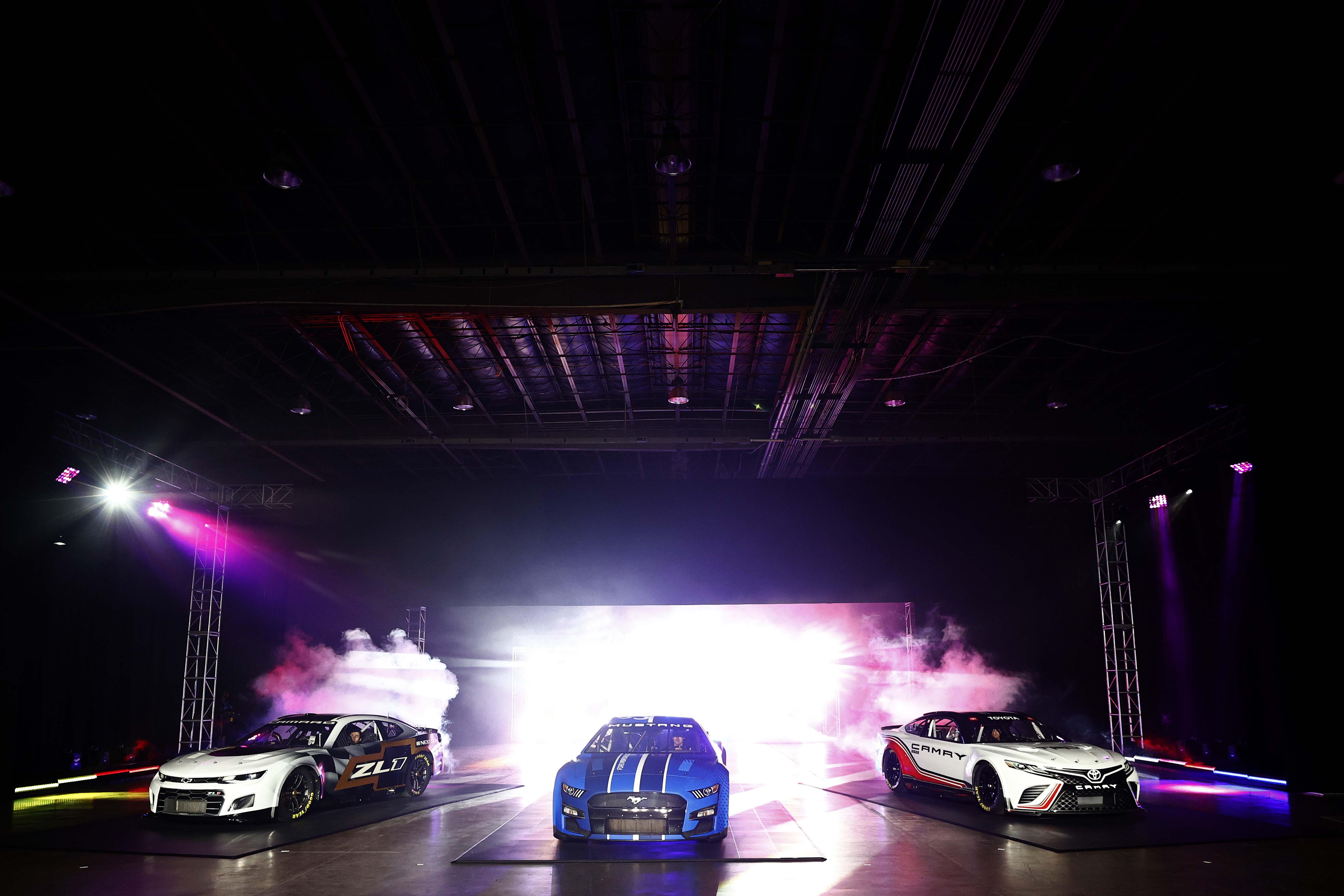 NASCAR Next Gen cars