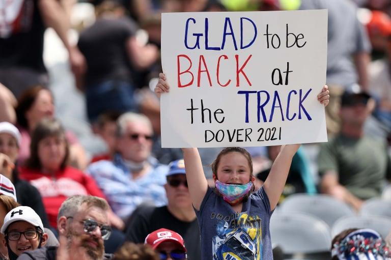 NASCAR fans - Grandstands