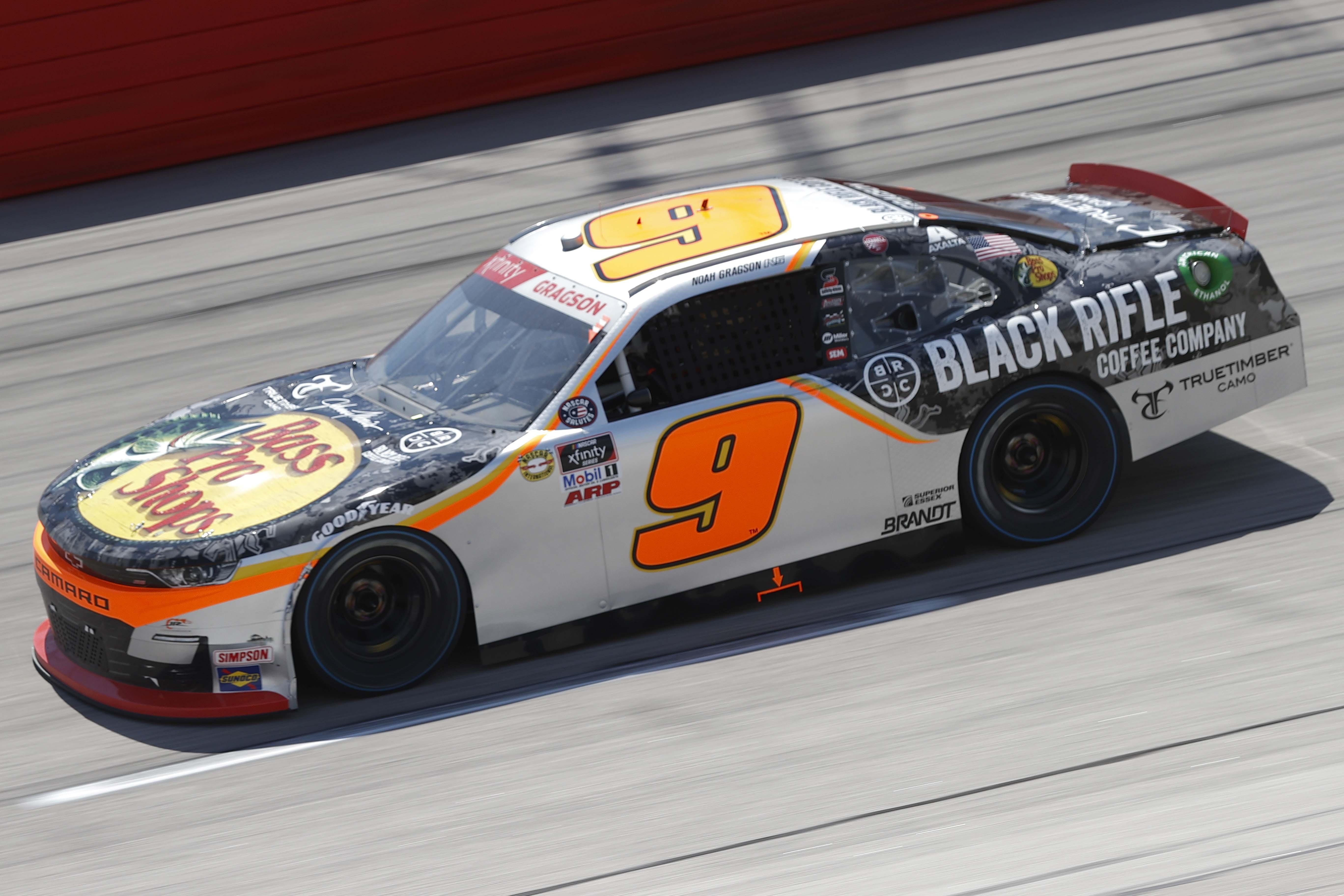 Noah Gragson at Darlington Raceway - NASCAR Xfinity Series