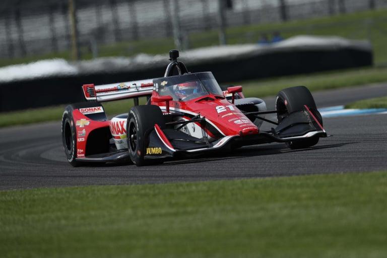 Rinus VeeKay - GMR Grand Prix - Indianapolis Motor Speedway - Indycar Series
