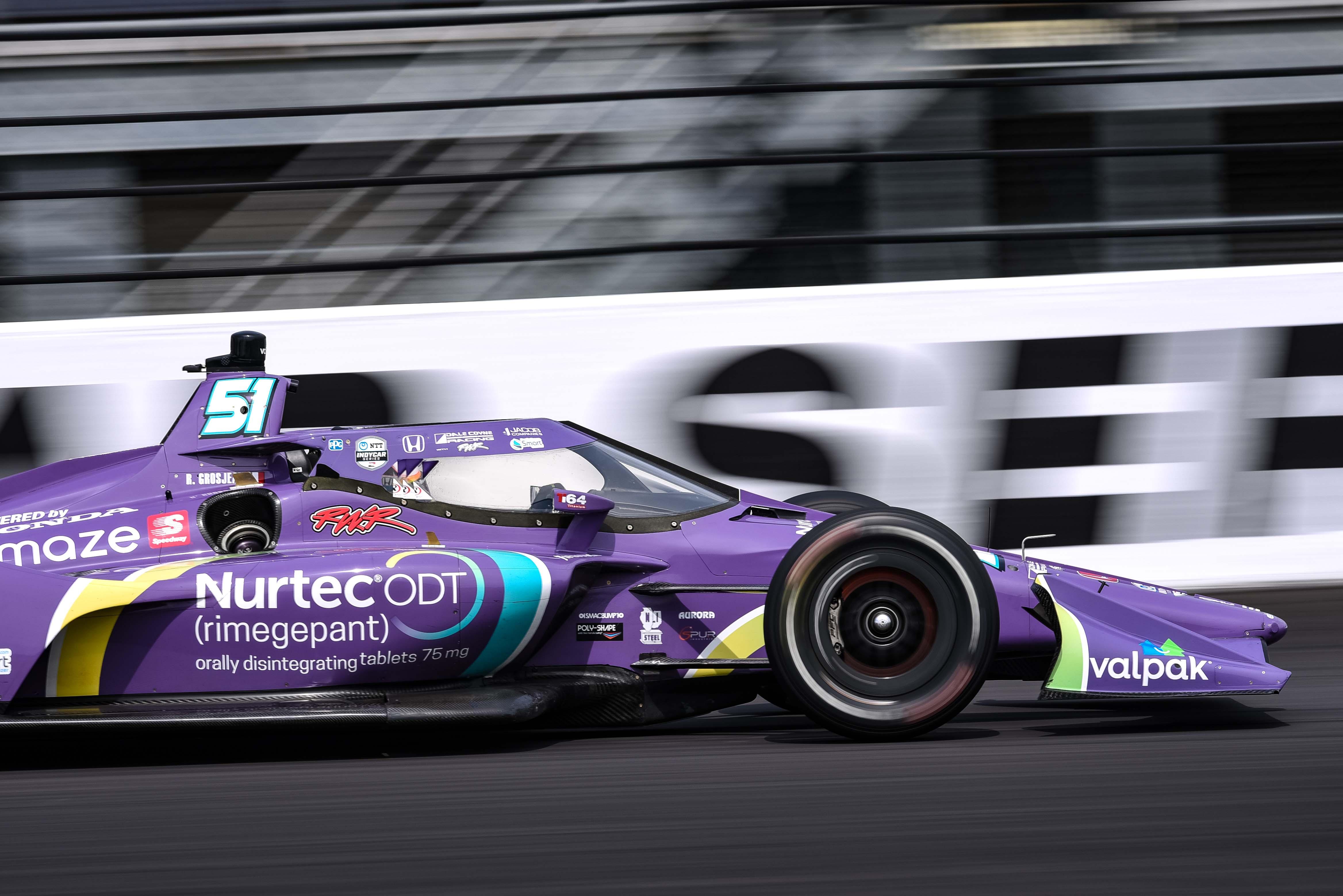Romain Grosjean 51 - GMR Grand Prix - Indianapolis Motor Speedway - Indycar Series