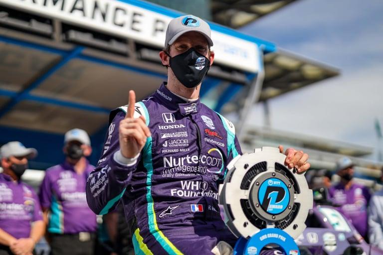 Romain Grosjean - Indianapolis GP - Pole Position - Indycar Series