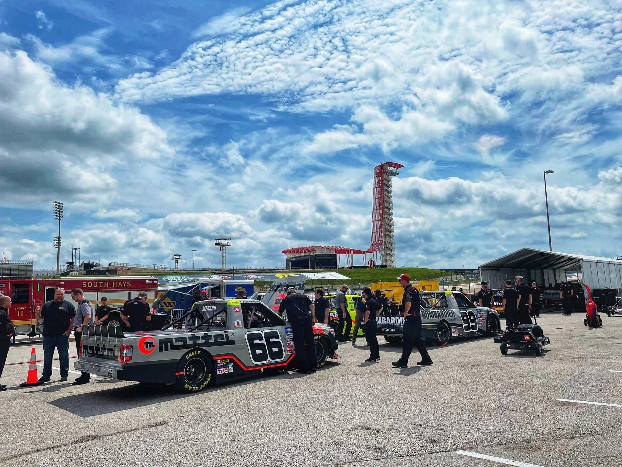 ThorSport Racing - Circuit of the Americas - COTA - NASCAR Truck Series