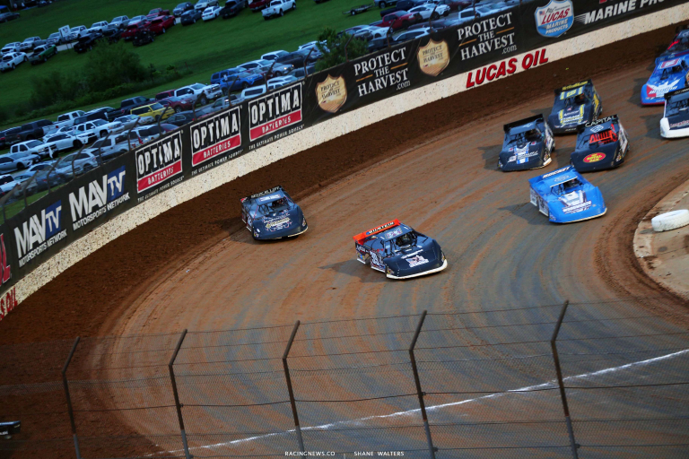 Tim McCreadie, Bobby Pierce, Brandon Sheppard - Lucas Oil Late Model Dirt Series - Lucas Oil Speedway 5741