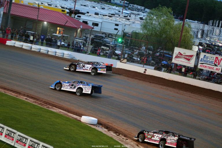 Tim McCreadie, Brandon Sheppard, Bobby Pierce - Lucas Oil Speedway - Dirt Track Racing 5733
