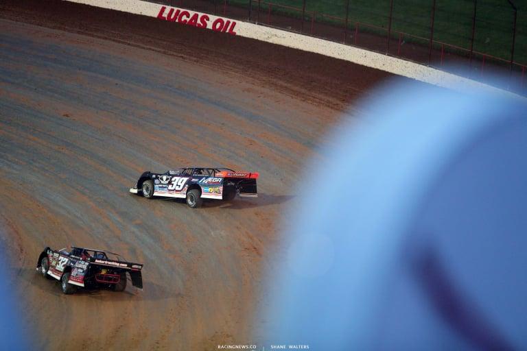 Tim McCreadie and Bobby Pierce - Lucas Oil Speedway - Dirt Track Racing 5782