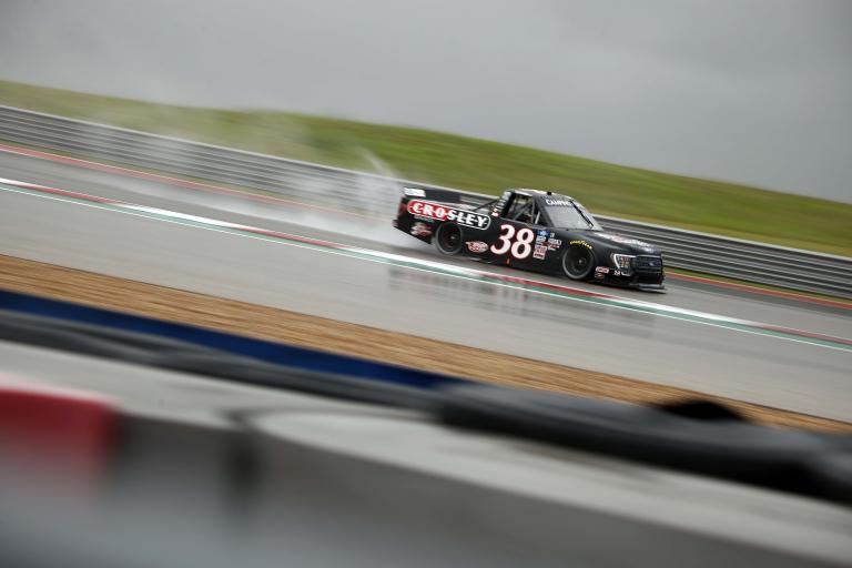 Todd Gilliland - Circuit of the Americas - COTA - NASCAR Truck Series - Rain Racing