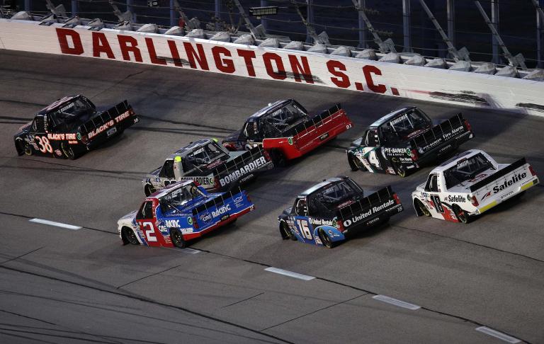 Todd Gilliland - NASCAR Truck Series - Darlington Raceway