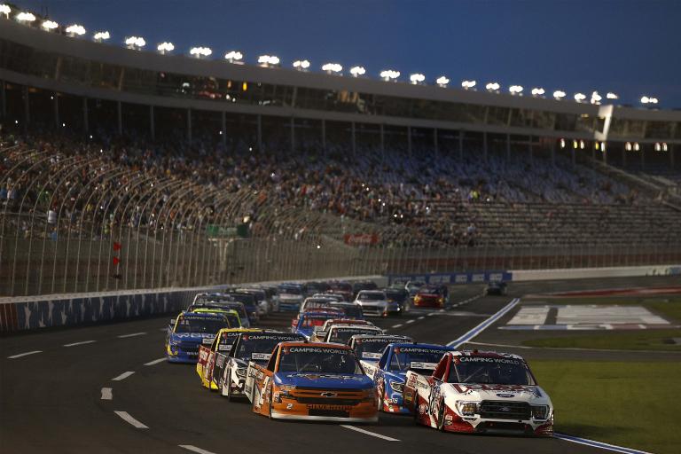 Todd Gilliland, Sheldon Creed - Charlotte Motor Speedway - NASCAR Truck Series