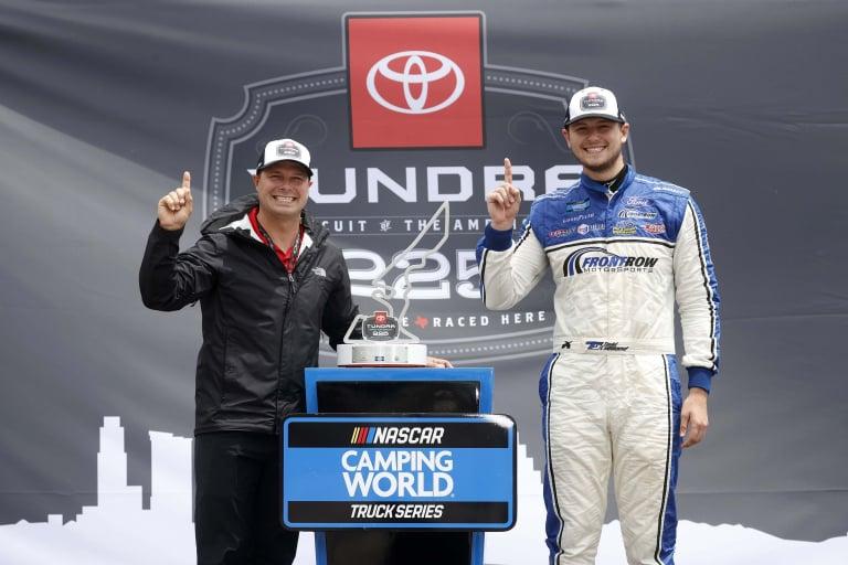 Todd Gilliland and David Gilliland - Circuit of the Americas - COTA - NASCAR Truck Series