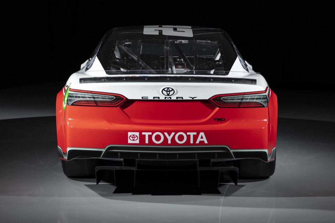 2022 Toyota Camry - NASCAR Next Gen Car - Rear Photo