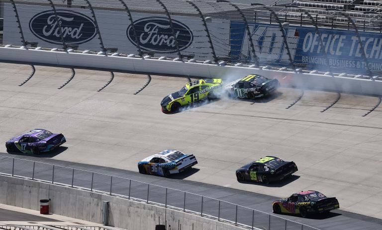 Zane Smith, Brandon Jones crash - NASCAR Xfinity Series - Dover International Speedway