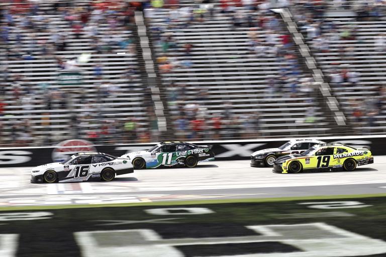 AJ Allmendinger, Justin Haley, Brandon Jones - Texas Motor Speedway - NASCAR Xfinity Series