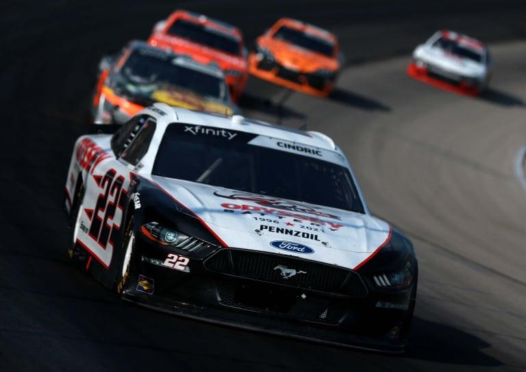 Austin Cindric - Texas Motor Speedway - NASCAR Xfinity Series