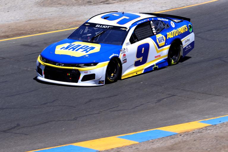 Chase Elliott at Sonoma Raceway - NASCAR Cup Series
