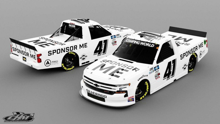 Chris Hacker - Sponsor Me - Cram Racing Enterprises - NASCAR Truck Series