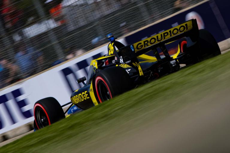 Colton Herta - Detroit Grand Prix - Indycar Series - Belle Isle Park