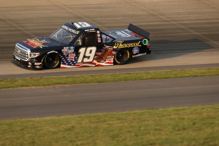 Derek Kraus - Nashville Superspeedway - NASCAR Truck Series 2