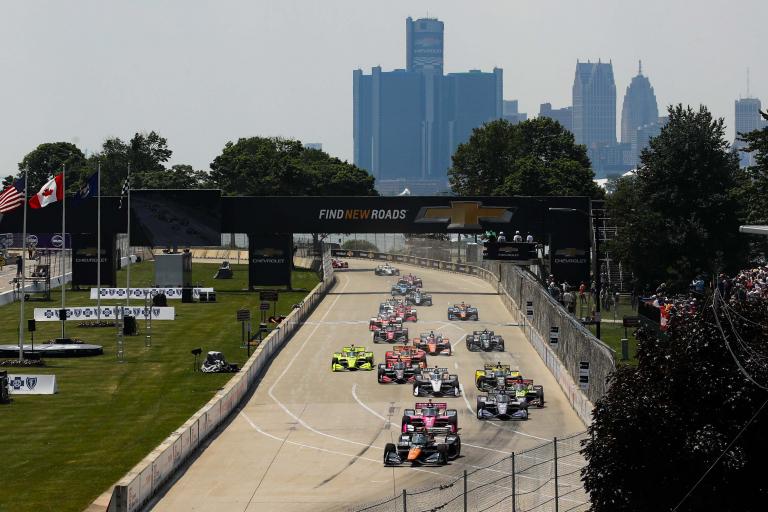 Detroit Grand Prix - Belle Isle Park - Indycar Series 2