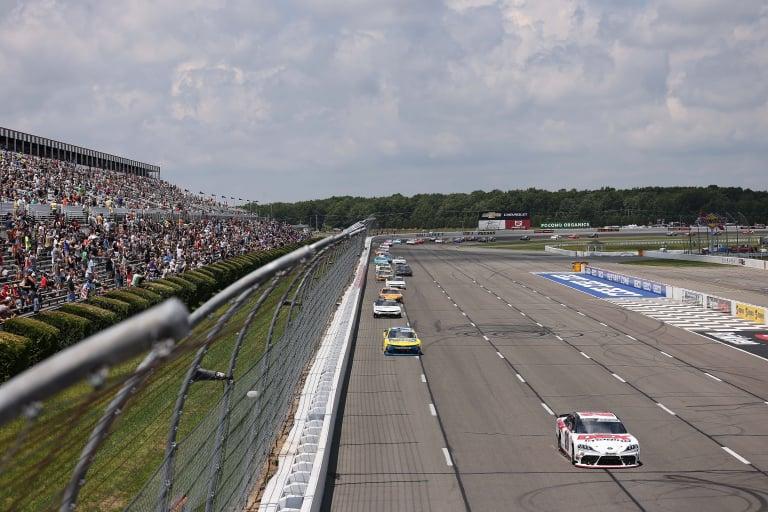 Harrison Burton, Justin Allgaier - NASCAR Xfinity Series - Pocono Raceway