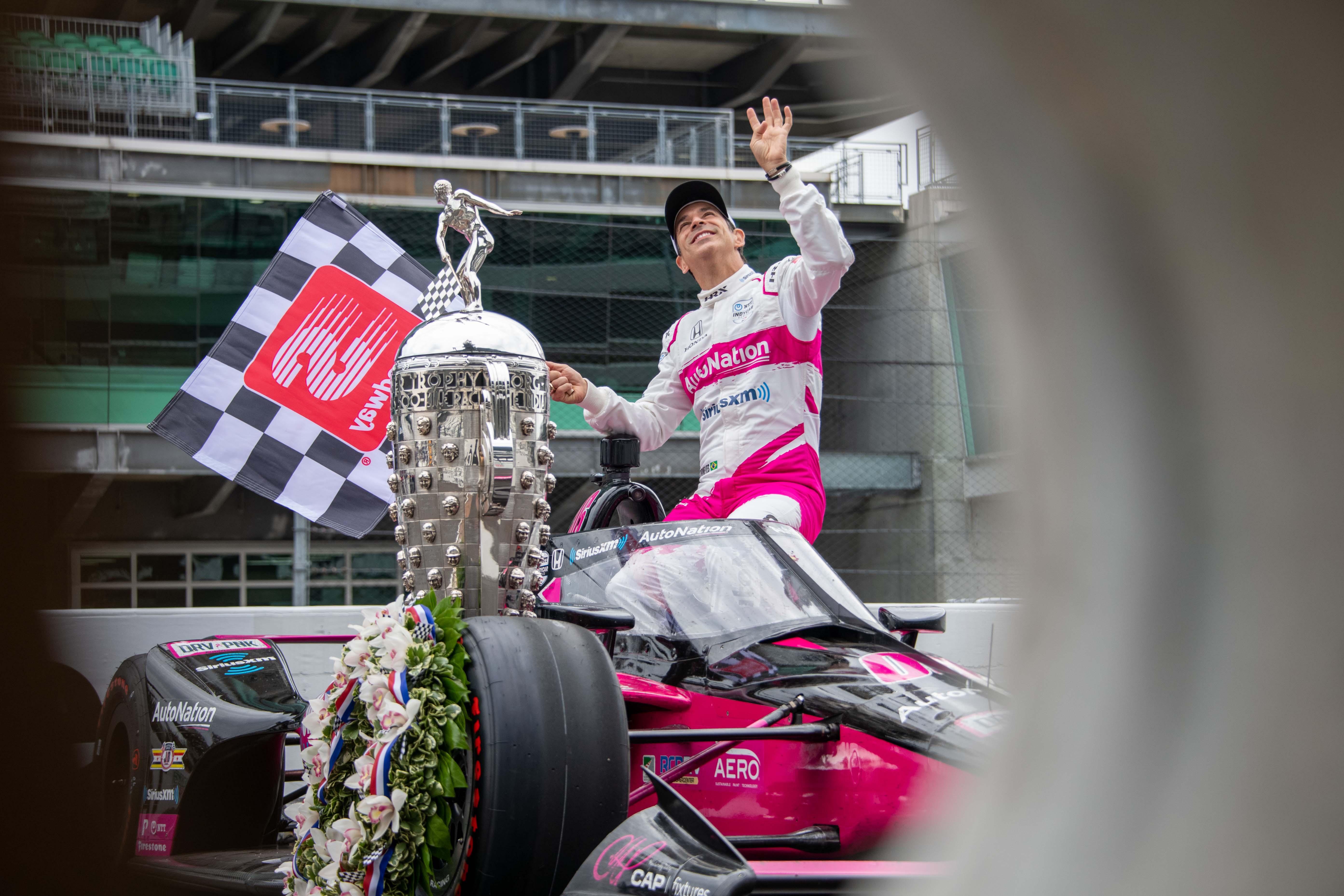 Helio Castroneves - 2021 Indy 500 winner
