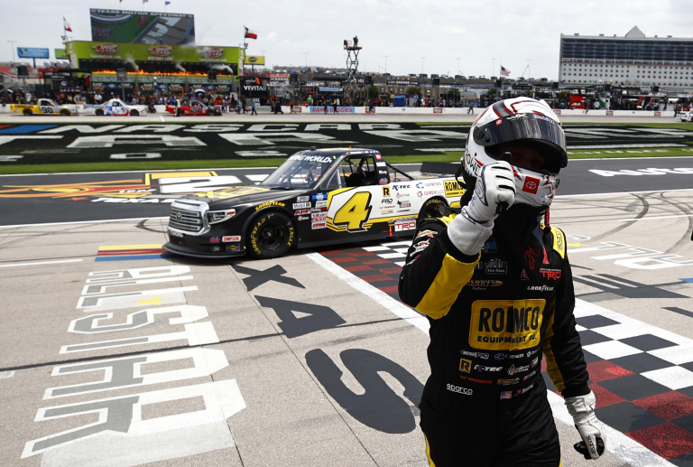 John Hunter Nemchek - Winner - Texas Motor Speedway - NASCAR Truck Series 2