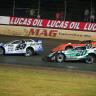 Jonathan Davenport, Jimmy Owens, Kyle Bronson - Magnolia Motor Speedway - Lucas Oil Late Model Dirt Series 6805