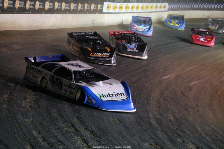 Jonathan Davenport - Magnolia Motor Speedway - Lucas Late Models 6686