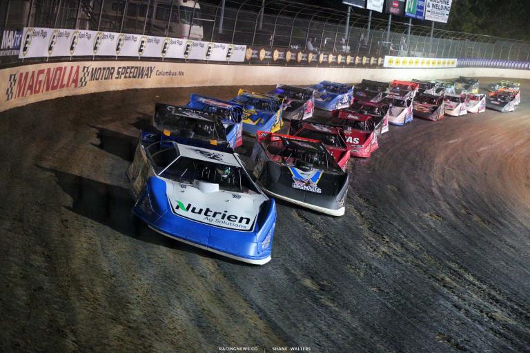 Jonathan Davenport, Tim McCreadie, Mike Marlar - Magnolia Motor Speedway - Dirt Track Racing - LOLMDS 9996