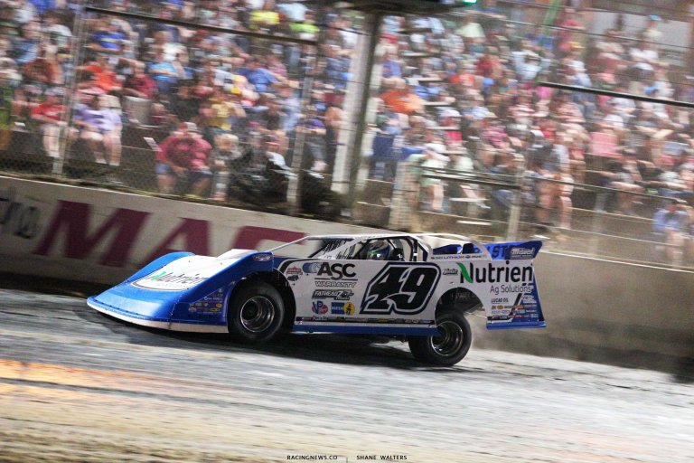 Jonathan Davenport wins the Clash at the Mag - Lucas Oil Late Model Dirt Series 6891