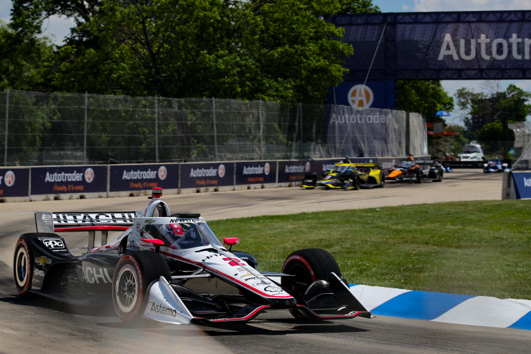 Josef Newgarden 2 C - Detroit Grand Prix - Indycar Series - Belle Isle Park