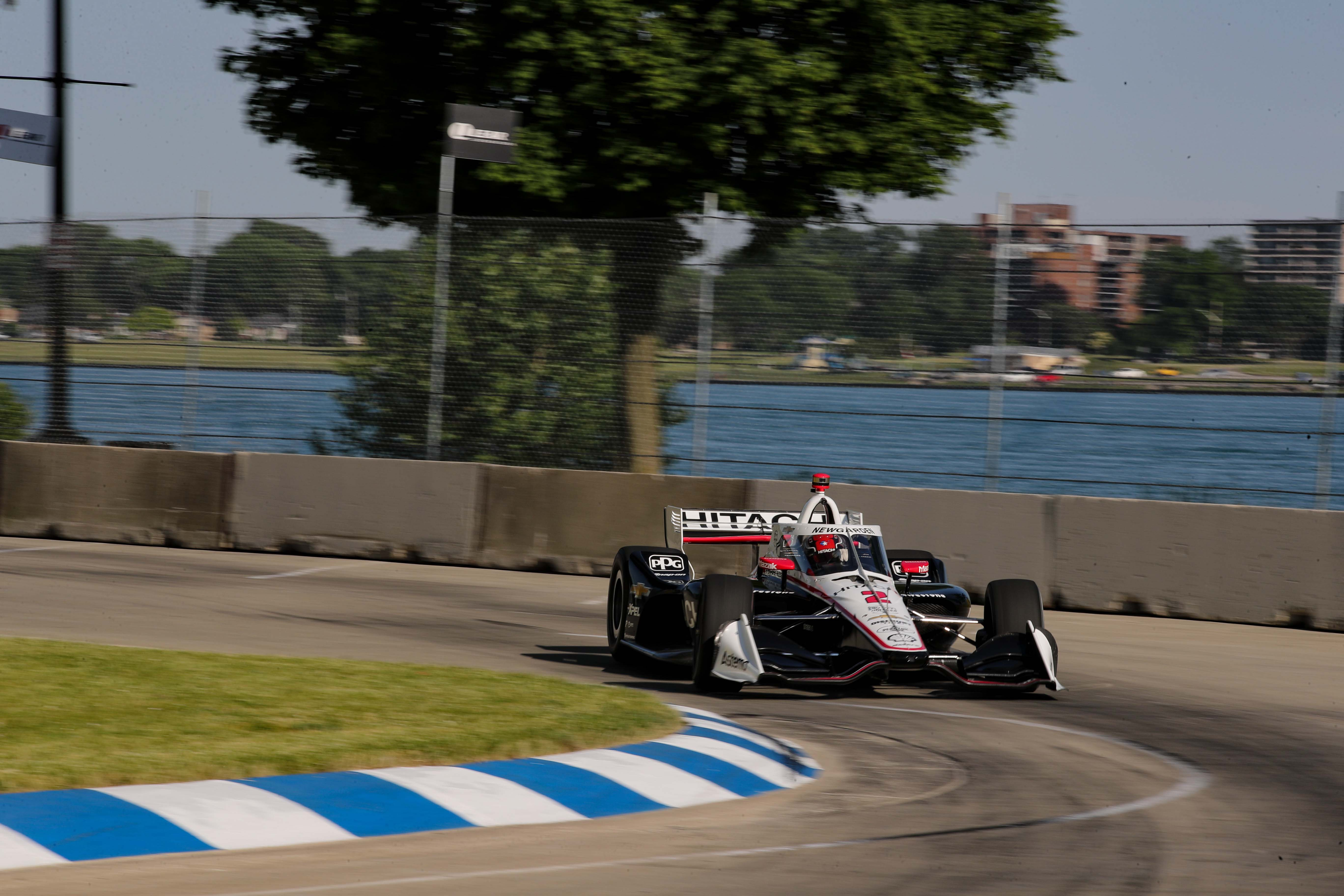 Josef Newgarden 2 - Detroit Grand Prix - Belle Isle Park - Indycar Series