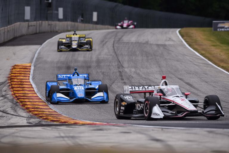 Josef Newgarden and Alex Palou - Road America - Indycar Series