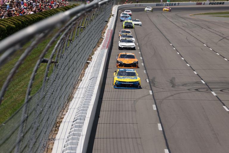 Justin Allgaier, Daniel Hemric - NASCAR Xfinity Series - Pocono Raceway
