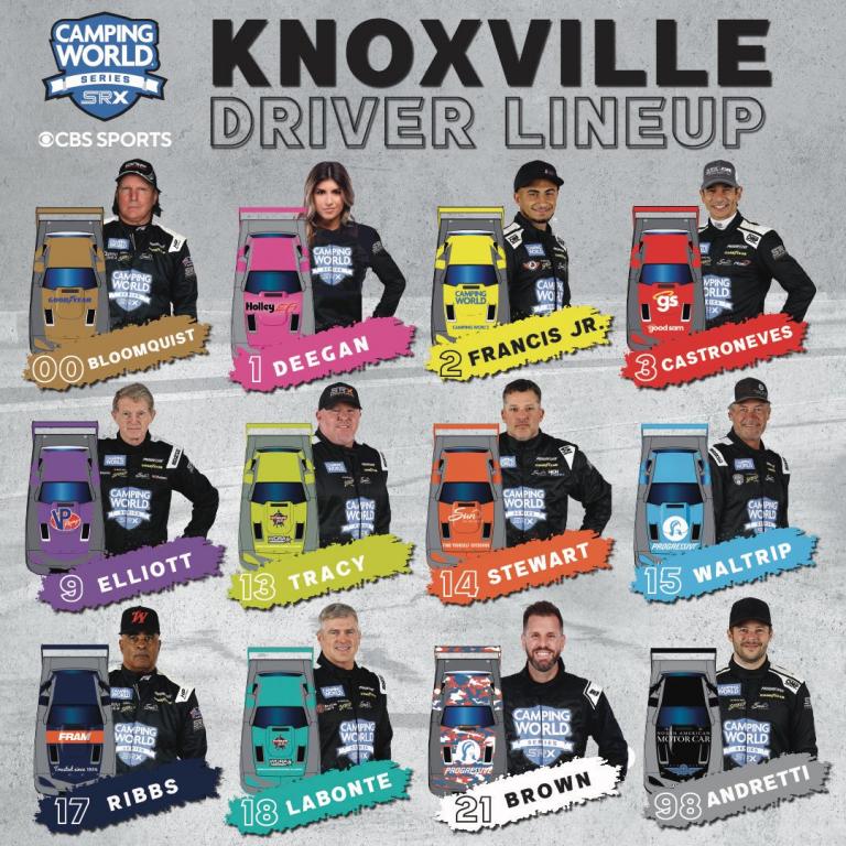 Knoxville Raceway - SRX Series Drivers
