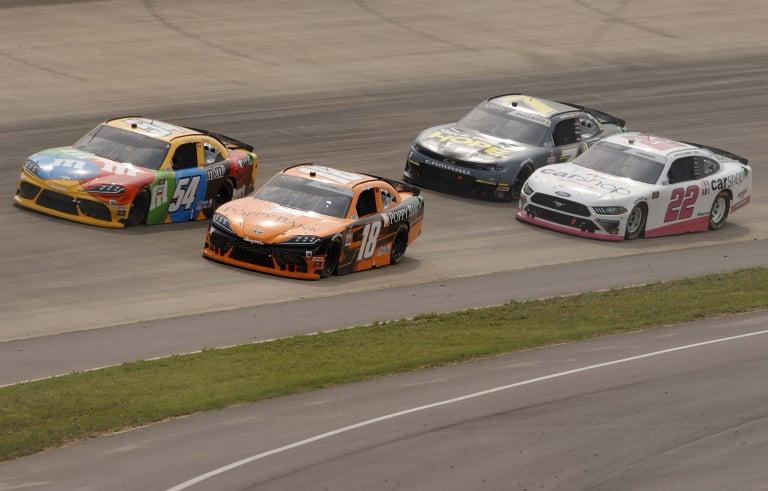 Kyle Busch, Daniel Hemric, Austin Cindric, Justin Allgaier - Nashville Superspeedway - NASCAR Xfinity Series