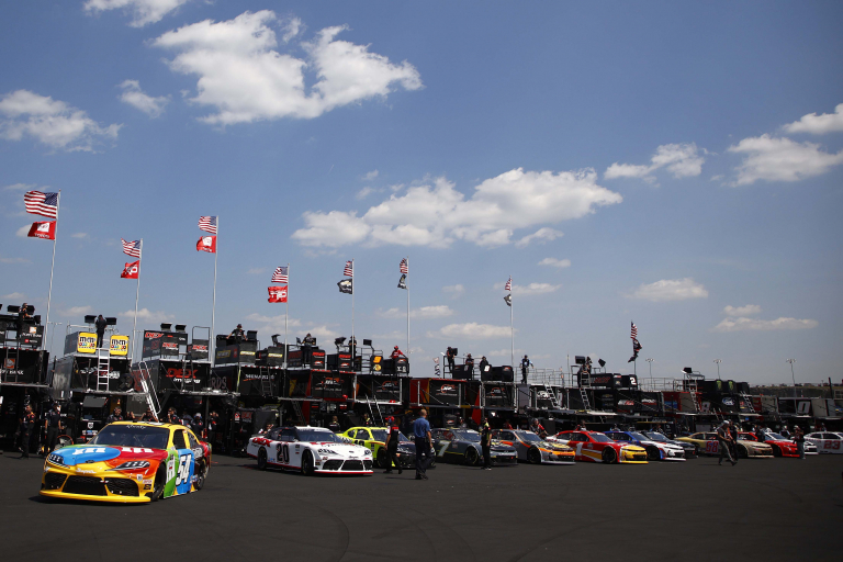 Kyle Busch - Nashville Superspeedway - NASCAR Xfinity Series - Garage - Haulers 2