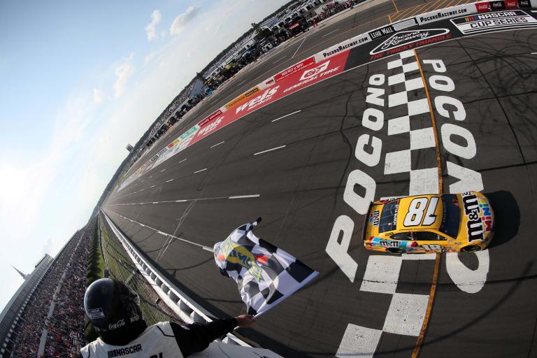Kyle Busch wins Pocono Raceway - NASCAR Cup Series
