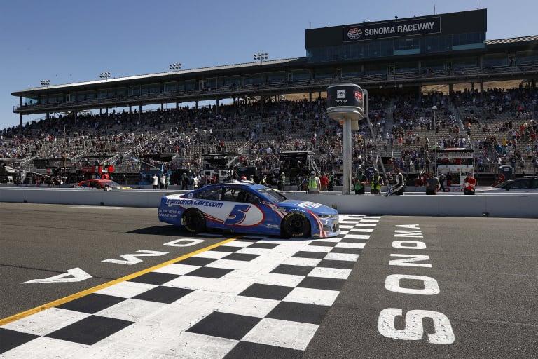 Kyle Larson wins at Sonoma Raceway - NASCAR Cup Series