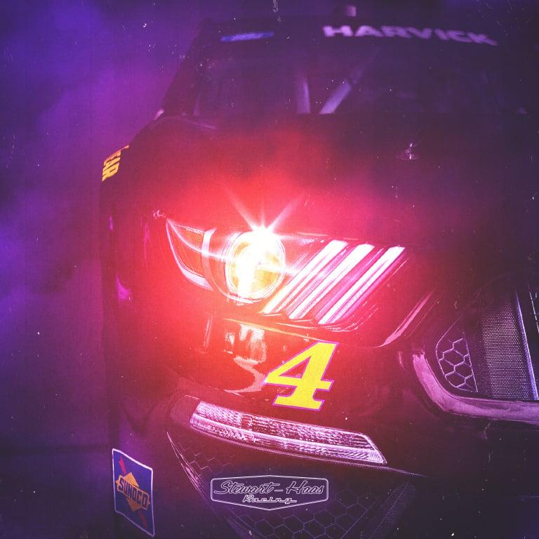 NASCAR - Grave Digger paint scheme