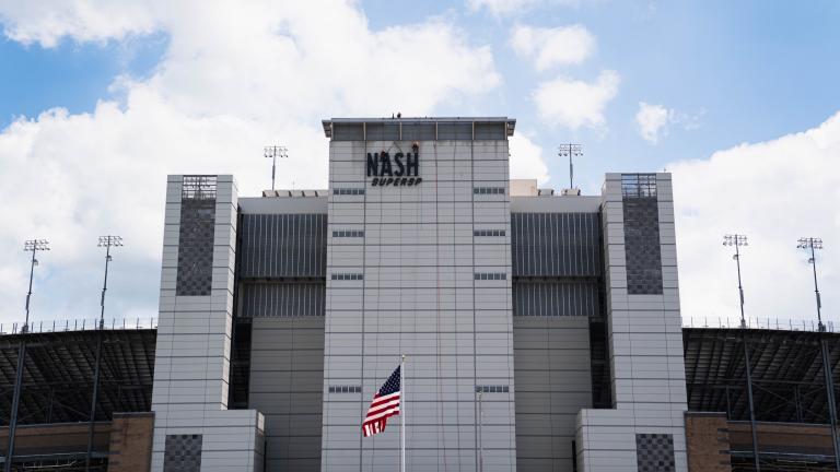 Nashville Superspeedway Building