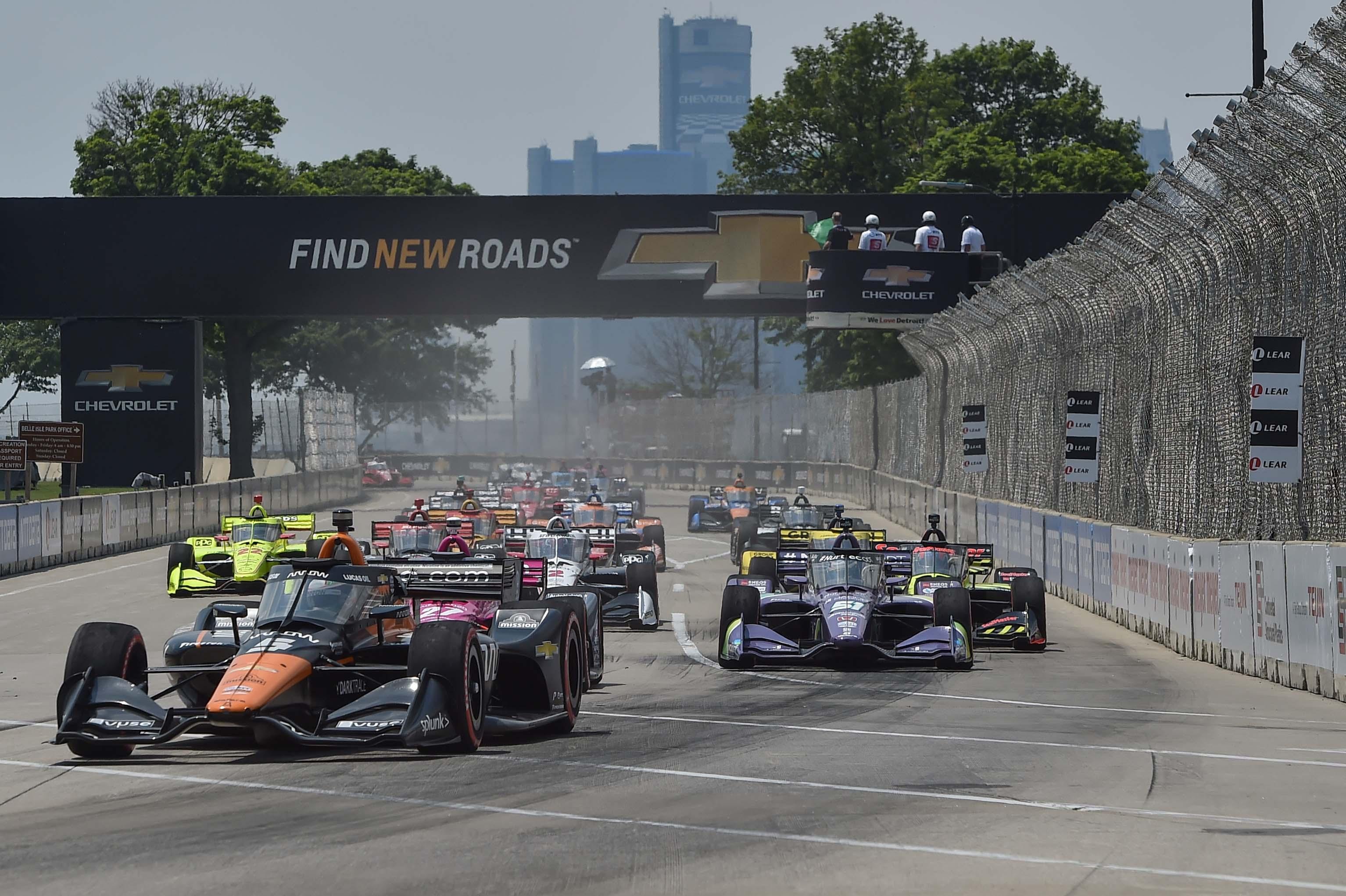 Pato O'Ward - Detroit Grand Prix - Belle Isle Park - Indycar Series