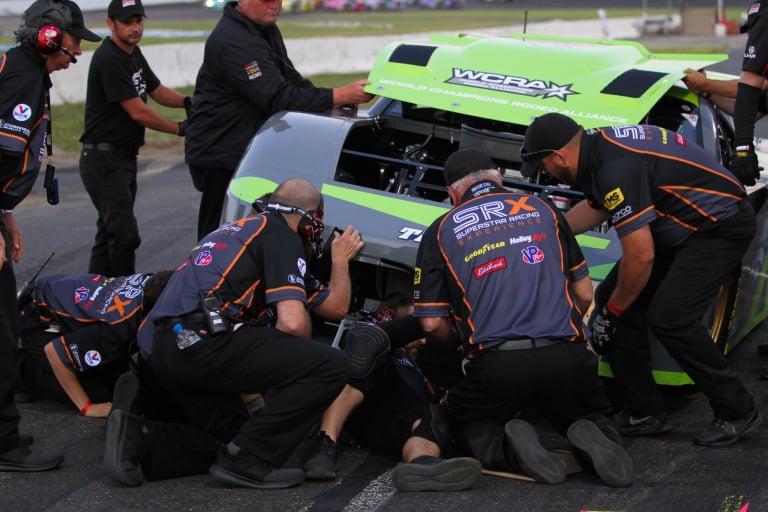 Paul Tracy - SRX Series - Stafford Motor Speedway